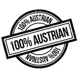 100 percent Austrian rubber stamp. Grunge design with dust scratches. Effects can be easily removed for a clean, crisp look. Color is easily changed Stock Image