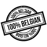 100 percent Belgian rubber stamp. Grunge design with dust scratches. Effects can be easily removed for a clean, crisp look. Color is easily changed Stock Images