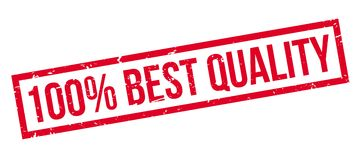 100 percent best quality rubber stamp Royalty Free Stock Photo