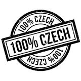 100 percent Czech rubber stamp. Grunge design with dust scratches. Effects can be easily removed for a clean, crisp look. Color is easily changed stock illustration
