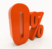 Percent Discount 3d Sign Stock Photo