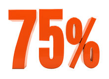 Percent Discount 3d Sign Stock Photography