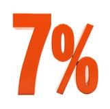 Percent Discount 3d Sign Stock Images
