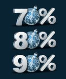 Percent discount icon Stock Image