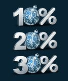 Percent discount icon Royalty Free Stock Images