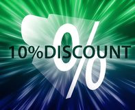 Percent Discount illustration Stock Image