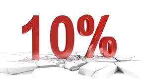 10 percent discount stock video