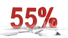 55 percent discount stock video footage