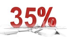 35 percent discount stock video