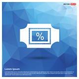 percent do Web da porcentagem do negócio do ícone da porcentagem…… ilustração do vetor