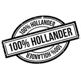 100 percent hollander rubber stamp. Grunge design with dust scratches. Effects can be easily removed for a clean, crisp look. Color is easily changed Royalty Free Illustration