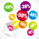Percent items Royalty Free Stock Image
