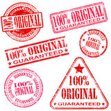 100 Percent Original Stamps Royalty Free Stock Images