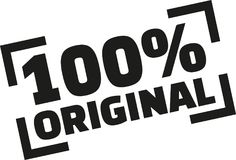 100 percent original. Vector icon royalty free illustration