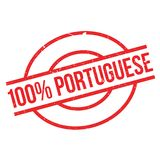 100 percent portuguese rubber stamp. Grunge design with dust scratches. Effects can be easily removed for a clean, crisp look. Color is easily changed Stock Photos