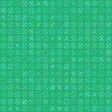 Percent seamless business background pattern. Discount illustration. Economic finance promotion image. Stock Photography