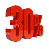 30 Percent Sign Stock Photos