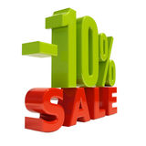 10 Percent Sign. 10 Percent Discount Sign, Sale Up to 10% , 10% Sale,  Special Offer, Money Smarts Sticker,  Save On 10% Icon, 10% Off Tag, Budget-Friendly, Cost Stock Photos