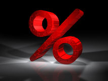 Percent sign - Puzzle Stock Photography