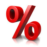 Percent Sign Royalty Free Stock Images