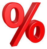 Percent sign Royalty Free Stock Photo
