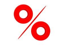 Percent sign Stock Photos
