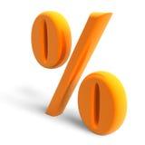 Percent symbol Stock Image