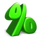 Percent symbol Stock Photo