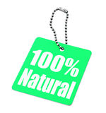 100 percent tag Royalty Free Stock Image