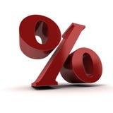 Percentage Royalty Free Stock Image