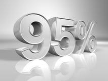 Percentage Royalty Free Stock Photos