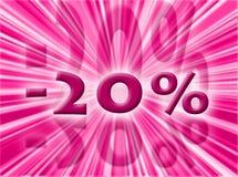 Percentage Stock Image