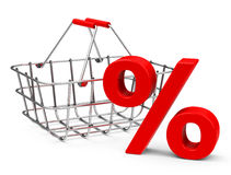 Percentage. 3d generated picture about percentage Stock Photo