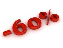Percentage sign Royalty Free Stock Photos