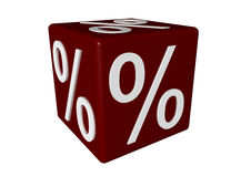 Percentage sign Stock Photos