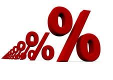 Percentage sign Stock Image