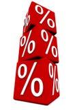 Percentage sign Royalty Free Stock Photo