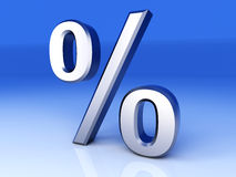 Percentage Symbol Royalty Free Stock Images
