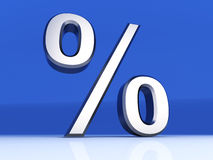 Percentage Symbol Stock Image
