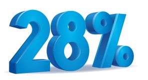 Percentagevector, 28 Royalty-vrije Stock Foto