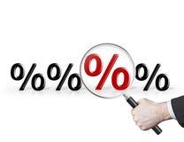 percenten stock foto's