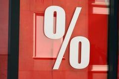 Percenten Stock Fotografie