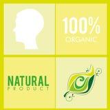 100 percenten Organisch Stock Afbeelding