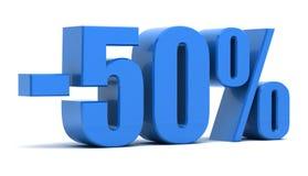 50 percentenkorting Stock Fotografie