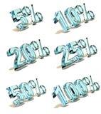 Percents Royalty Free Stock Image