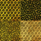 Percents. Seamless pattern. Royalty Free Stock Images