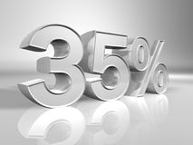 Percentuale Fotografie Stock