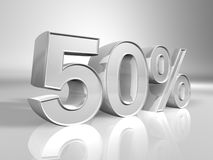 Percentuale Immagine Stock
