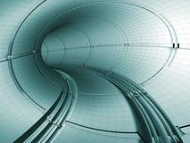 Percez un tunnel le modèle illustration stock