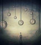 Percezione di tempo immagine stock